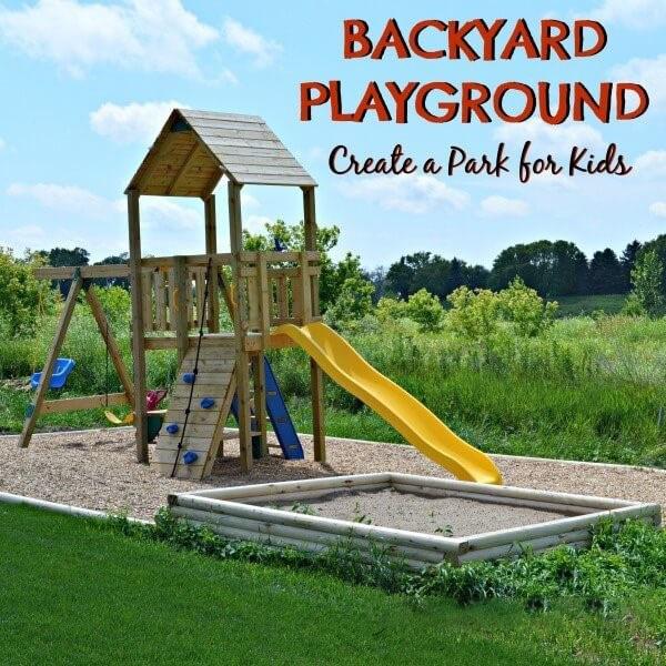 Tận dụng pallet gỗ giá rẻ làm công viên tại gia