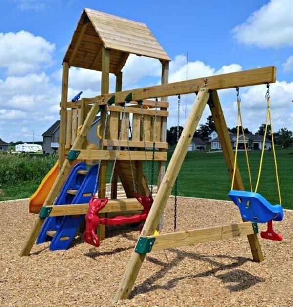 Thêm các tiện ích ở sân chơi cho trẻ